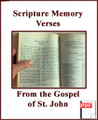 Scripture Memory Verses from the Gospel according to John by Steve Wood   These verses are commonly regarded as some of the key verses in the Gospel of John along with a few other key verses that reinforce distinctively Catholic doctrines; for ex: John 6 on Eucharist, John 21:25 on Tradition; John 21:15 Peter as Shepherd, etc.  These are the most important Scripture Memory verses that you will want to memorize by heart. Steve chose these verses because they can be transformative.  He also tell you how to memorize them and how to do it effectively so that you will retain it.
