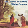 "The Seven Secrets of Teaching Children Scripture  Steve Wood   Steve Wood, Host, Faith & Family Radio Show discusses the seven secrets of teaching children scripture plus how to memorize scripture and retain it.   On this CD you'll discover the 7 secrets of teaching children to love God through loving Scripture. Here are some of the things you'll learn:  Why the often overlooked first secret is one thousand times more important than all the other secrets combined  How to use the power of music and stories to root scripture in little minds and hearts How to teach Bible memorization Why it is important to teach the big picture on how the Bible fits together How parents can use the teaching methods of Jesus and St. Paul to impact their children  ""Did not our hearts burn within us while he talked to us on the road, while he opened to us the scriptures?""  Luke 24:32"