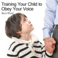 "Training Your Children to Obey Your Voice: An Essential Task for Fathers Steve Wood                                                                  This is a CD that every parent of a young child needs listen to. You'll learn strategies to prevent years of headaches.  This message explains why training your child to obey your voice should be the primary focus of all your child discipline and training.   You will hear discussions on:  The 60-second secret for getting your child to obey your voice Why fathers are critically important for teaching obedient listening Why your child's temporal and eternal futures depend on listening What book of the Bible should parents use to teach listening When is the best time to teach obedient listening How to determine when your child can understand ""no"" and ""come"" Why second and third warnings are counter-productive  ""There are so many people out there with very mixed ideas on how to raise faithful kids. This is just an exceptional talk and worth its weight in gold - invaluable wisdom and guidance for Dads and Moms with young children [and older ones too!]""  -- Graham Osborne"
