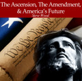 "The Ascension, the Amendment, & America's Future  Steve Wood  This hard-hitting message is not for those who can't stand a strong challenge to common conservative Catholic thinking.  On this CD you will learn:  Why will the current strategy of downplaying the morality of birth control and emphasizing the first amendment not succeed? What is the inevitable political future of a nation immersed in sexual sin? Why birth control is going to lead to government birth control.  What are the proper and improper uses of the first amendment for Catholics? What does the Kingship of Jesus have to do with America? What is the heresy of ""Americanism"" that has been embraced by Catholic laity and leadership for the past 124 years? What nightmare reality is the radical separation of church and state leading us to?"