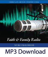 "Four Keys to Successful Fatherhood During an Age of an Apostasy   by Steve Wood                                                                                     *Available in CD   ""By faith Noah, being warned by God concerning events as yet unseen, took heed and constructed an ark for the saving of his household; by this he condemned the world and became an heir of the righteousness which comes by faith.""   Hebrews 11:7    On this CD you'll learn:   Why involved Catholic fathers are critical for the temporal and eternal welfare of children Why fathers are necessary for sustaining faith during a cultural apostasy One simple quick way to gain more time for fathering How men can avoid the four ""turnovers"" that cause them to lose at marriage"
