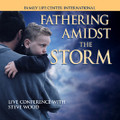 "Fathering Amidst the Storm  Live Seminar by Steve Wood   On August 13, 2004 the destructive fury of a 145-mile-per-hour Category Four hurricane passed over Steve Wood's home. A cultural storm of that intensity is raging against your family at this very moment. We are in the midst of the fiercest storm ever unleashed against the faith and Catholic family life. But we can survive it. These man-to-man talks given at a Catholic men's conference tell you how.  Here is just a portion of what you will hear on this 2-CD conference album:       How to prepare your children to face the darkness in our culture.     How your method of discipline might affect your child's eternal destiny     Cohabitation has been a nightmare for countless parents--what to expect next     Why teens, even those from good homes, fall away     Key information for fathering sons in the 21st century     How to keep the media from corrupting your kids     Why Catholic fathers are so necessary in an age of moral decline & apostasy  After the recent U.S. presidential election and in light of the looming immoral Obamacare mandates, it is critical that all Catholic families hear and heed the message on this challenging CD set.  pdf-pptsm.jpg If you have purchased this 2 CD set and would like to receive a FREE PowerPoint Presentation which accompanies this talk send an email to: mail@familylifecenter.net    Customer's Testimonies   ""I must have listened to your new CD 5 times while on vacation. No doubt your best yet. My dad gave them out to all 7 of his sons/sons-in law, and I've passed on to my brothers-in-law on my wife's side. Your evolution from contraception to homosexuality was brilliant and timely."" -- Kevin  ""Thank you SO MUCH for the Fathering Amidst the Storm!  WOW!!  We really appreciate all that you do."" -- Ken ""We recently purchased your 2-CD set, ""Fathering Amidst the Storm."" It is a valuable and prophetic resource. Your talk's emphasis on the ""storm front"" of homosexuality has clearly broken in full force on our country, and particularly where we live. Thank you, and God bless you and your ministry, -- John"