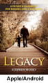 """Legacy:  A Handbook for Raising Godly Children (Apple/Android)  by Steve Wood   The most important job a man has is fathering his children, but raising godly children in today's world isn't an easy task. Don't tackle the most important job of your life unprepared. Legacy will equip you with the basic tools you need to fulfill your role as a father.   This man-to-man book covers fundamental principles, priorities, and practical strategies to help you build a legacy of faith in your family.   In Legacy you will find:    How to use sports and adventure to pass on the Faith to your children Practical ways to find adequate time for fathering The 60-second secret to getting your kids to obey – the first time How to handle a strong-willed child To spank or not to spank, that is the question… What you should never do when disciplining a child How to tame the """"terrible twos"""" Why the central focus of discipline is the ear, not the rear How to prevent your child from turning """"gay"""" How to help your sons win the war to be pure The key to fathering daughters (Steve has six of them): The one common mistake you must NEVER commit or you'll scar your daughter's soul for life A major unrecognized cause of children falling away from the Faith – even in the most solid Catholic homes. Recognize it! Don't let it happen to you. How a successful father summed up the secret of fatherhood in a 21-word note that his son folded up and kept for 25 years in his Bible. Those 21 words will surprise you. How to avoid blowing the one opportunity you have to be a good dad to your young children. (Hint: Failure is guaranteed if you make a mistake on the question of """"quality time vs. quantity time"""".) Why you don't need to wait for teen problems to explode: This key strategy in the child's early years heads off trouble. How to stay married. The secret is to avoid the four marriage busters. How to build an """"ark"""" to protect your family from the flood of godlessness and paganism  Legacy shows how families a"""