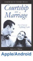 """Courtship and Marriage How to Prepare for Lifelong Love by Fr. John O'Brien   Young people today are finding shattered hearts and broken promises in the place of real love. This eBook outlines God's special plan for building lifelong marriages. It courageously presents a challenge to young adults to build a greater kind of love through honorable courtship.  You'll learn:  How do I know if we're compatible? Just how far can we go before marriage? What girls need to know about guys What guys need to look for in a wife How to keep your head when you're head-over-heels in love The dangers of both haste and delay in getting married The #1 enemy of your relationship The best """"test"""" to see if your relationship is on the right track The surest way to make your marriage a success Recommendations for Courtship and Marriage: """"Honorable courtship - an alternative to typical American dating - is possible. Courtship and Marriage offers a refreshing message for today's teens and young adults.""""  - Kimberly Hahn  """"This small volume is packed with practical, time tested advice on how to choose a suitable spouse, preserve chastity, and cultivate true love. The first step in creating a 'divorce-proof' marriage is to read and heed the wisdom in this book.""""  - Jim Burnham"""