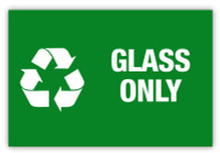 Glass Only Label
