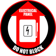 Elec. Panel - Do Not Block