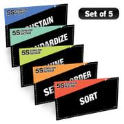 5S Steps Poster Pack (Black)