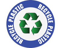 Recycle Plastic Sign
