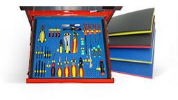 Tool Drawer foam organizer