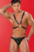 Allure Lingerie Leather  Half Harness