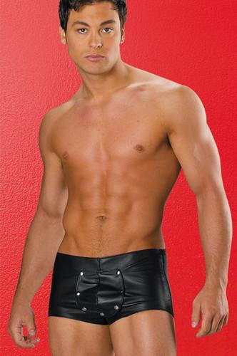Allure Lingerie Leather Lycra Shorts