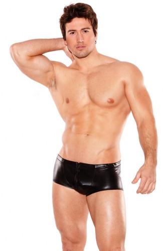 Allure Lingerie Wet Look Shorts