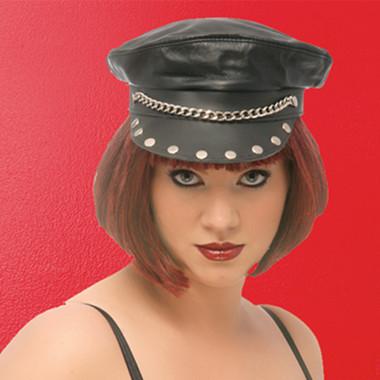 Allure Lingerie Leather Diva Hat