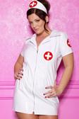 Allure Lingerie Vinyl Nurse Costume