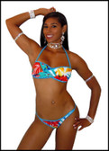 Blue Orchid Exoticwear 6 Pack Sexy Patricia 2 Piece Scrunchbutt Short