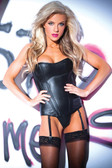 Allure Lingerie Faux Leather Naughty Nights Corset
