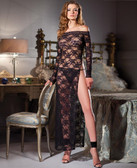 Be Wicked Lace Full-Length Dress