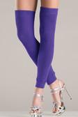 Be Wicked Thigh High Leg Warmer - Purple