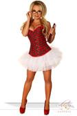 Daisy Corset 2 Pc Sexy Schoolgirl Costume