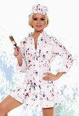 Elegant Moments Painter Costume Queen Size