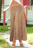 AM PM Crackle Skirt - Tan