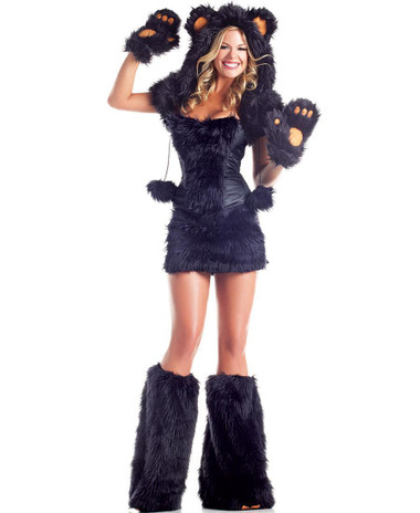 "Be Wicked Animals- ""Black Bear"" Costume"