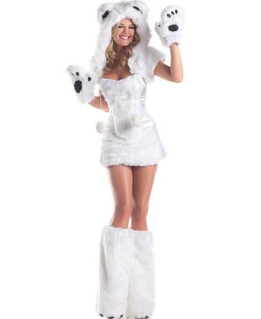 "Be Wicked Animals- ""Polar Bear"" Costume"