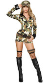 Roma Costume  3Pc Sexy Soldier