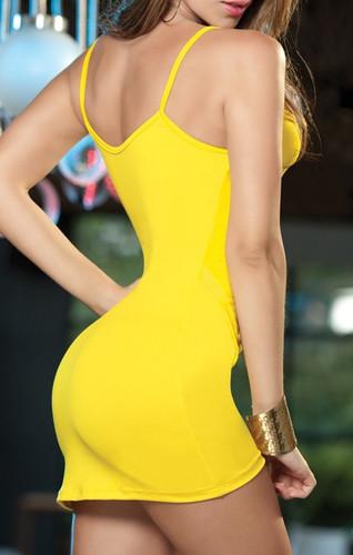 AM PM Overlay Mini Dress