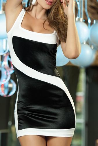 AM PM Espiral Two Tone Dress