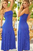 AM PM Convertible Skirt - Blue