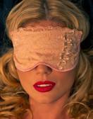 Fearless and Fun Lingerie Beige Sleep Mask