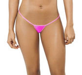 Joe Snyder Women Skyros V-String - Pink