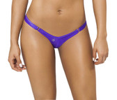 Joe Snyder Women Crete Tanga - Purple