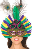 Be Wicked Mask Peacock Festive Mask