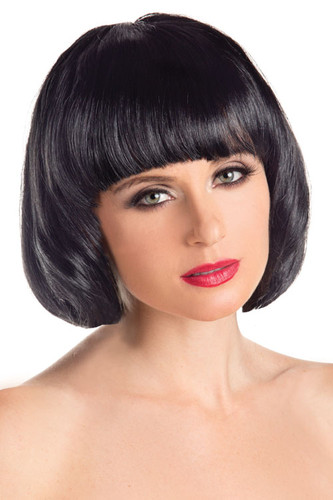 Be Wicked Bob Wig  - Black