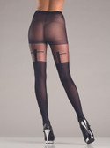 Be Wicked Shadow Cross Pantyhose