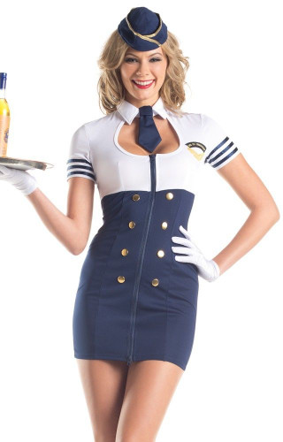 "Be Wicked Pilot- ""Mile High Service"" Costume"