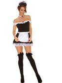 Elegant Moments Sexy Maid  4-Piece Costume