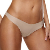 Hollywood Curves Invisible Thong - Nude