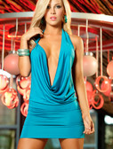AMPM Espiral Dress - Turquoise
