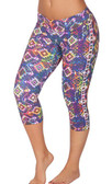 Protokolo Sports Yoga Capri Pants