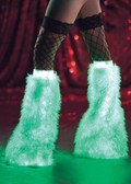 "Ravewear ""Glow In The Dark"" Fuzzy Boot Covers"