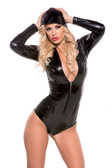 Allure Lingerie Second Skin Tight Hooded Jumper