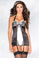 Be Wicked Black and White Cami Suspender