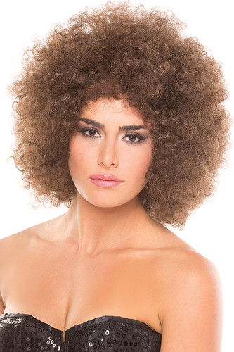 Be Wicked Foxxy Wig - Brown