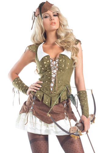 "Be Wicked Fairytale- ""Sherwood Beauty"" Costume"
