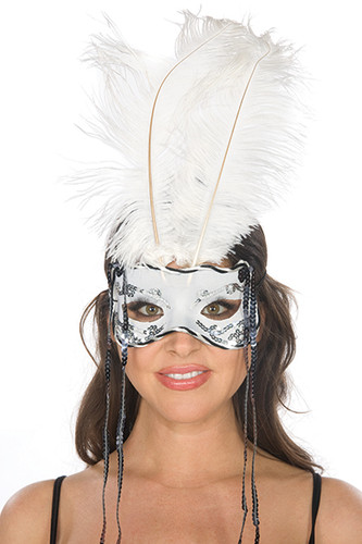 Be Wicked Feather Mask