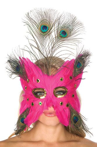 Be wicked Feather Mask BW7096A