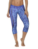 365me Sports Capri Pants- Blue